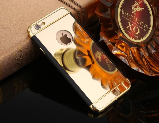 фото Чехол Matte - Mirror case for iPhone 6.6s /iPhone 7.7 plus/8.8 plus Gold