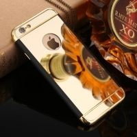 Чехол Matte - Mirror case for iPhone 6.6s & iPhone 7 Gold