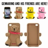 Moschino IPHONE 4.4s.5 CASE GENNARINO BEAR