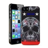 ����� Puro Just Cavalli Micro ��� iPhone 5.5s SOFT SKULL