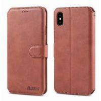Чехол Flip для iPhone X/Xs Brown, Цена: 402 грн, Фото