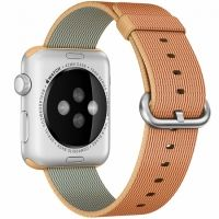 �������� ������� Woven Nylon Gold/ Red ��� Apple Watch 38/42mm