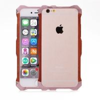 Бампер R-Just Wood iPhone 6.6s / 6 plus Rose Gold