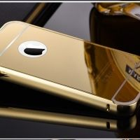 ����� ������ Mirror Gold case for iPhone 4.4s