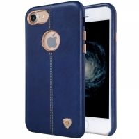 Чехол Nillkin Englon Leather Cover for Apple iPhone 7. 7 plus  Blue