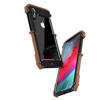 Бампер R-JUST Wood Frame Bumper Metal For iPhone XR