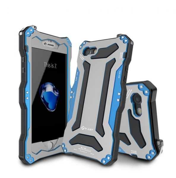 фото Чехол R-Just Gundam Waterproof for iPhone 7.7 plus/ 8.8 plus Blue