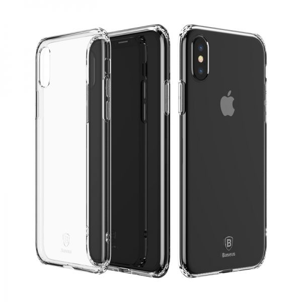фото Чехол Silicone Case BASEUS iPhone X/XS / iPhone 10 Clear