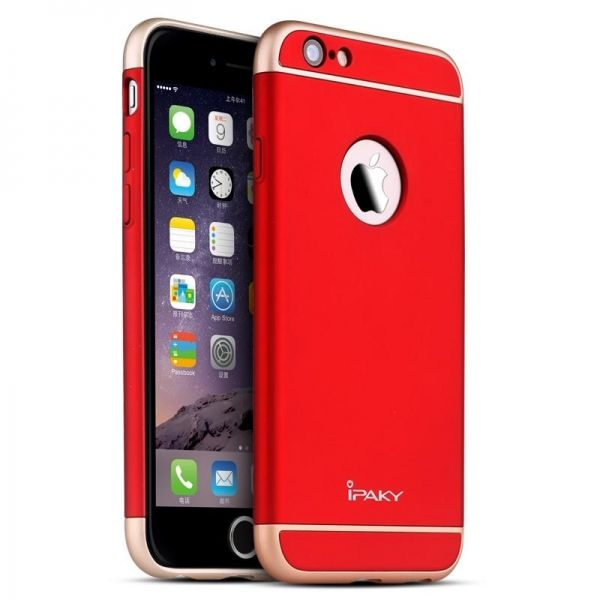 Чехол iPaky Red Full Cover For iPhone 6.6S - Фото 1