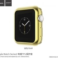 Чехол HOCO Silicone для Apple Watch 38/42mm Gold