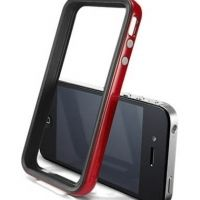 Бампер SGP Case Neo Hybrid 2S Vivid Series Dante Red for iPhone 4/4S