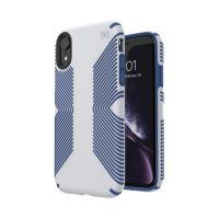 Чехол Speck fop Apple iPhone XR PRESIDIO GRIP - MICROCHIP GREY/BALLPOINT BLUE, Цена: 954 грн, Фото