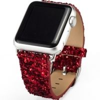 Ремешок crystal texture Red for Apple Watch 38/42mm