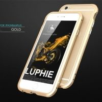 Бампер Luphie Ultra Luxury Gold for iPhone 6.6s