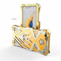 Чехол for iPhone 7. 7 plus Luxury Metal Simon Gold
