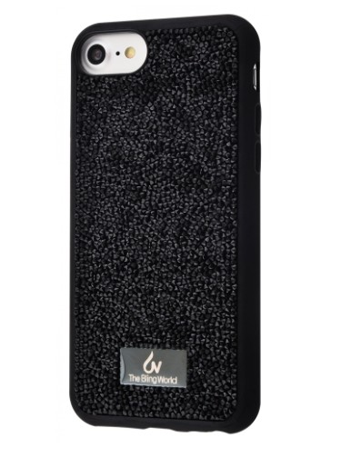 фото Чехол Bling World Grainy Diamonds (TPU) iPhone 7/8 Black