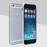 Бампер Cross Line for iPhone 6. 6 plus Silver оригинал