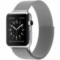 Ремешок Apple Watch 38/40/42/44mm with Milanese Loop (magnetic) Silver