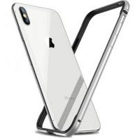 Бампер Silicone-Aluminium для iPhone XS Max White