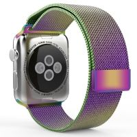 Apple Watch 38/40/42/44mm with Milanese Loop (magnetic) Colorful