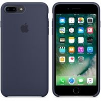 Силиконовый чехол Apple Silicone Case Midnight Blue для iPhone 7 plus
