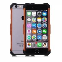 Бампер R-Just Wood iPhone 6.6s / 6 plus Black