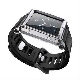 фото Чехол LunaTik Silver for iPod nano 6gen