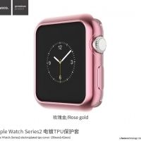 Чехол HOCO Silicone для Apple Watch 38/42mm Pink