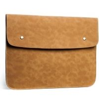 Чехол felt & leather от Gmakin для MacBook Air 13.3 Pro 13 Vintage Gold