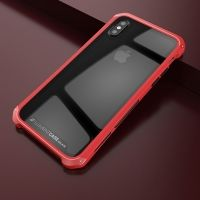 Чехол Element Case Template Glass  For iPhone X/10 Red