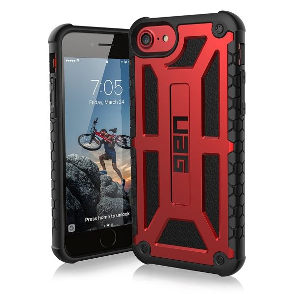 фото Чехол UAG для iPhone 7 / iPhone 8  Monarch Red