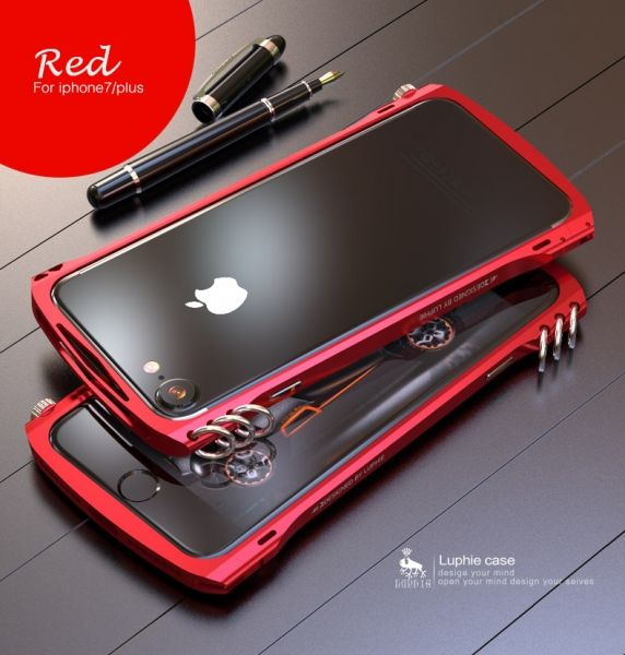 фото Бампер Alien X1 rotary screw for iPhone 7.7 plus/ 8.8 plus Red