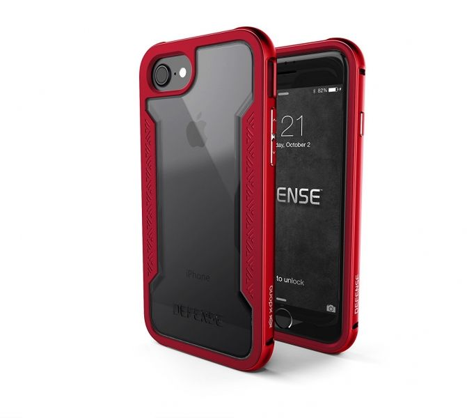 фото X-Doria Defense Shield Series for iPhone 7. 7 plus/ 8.8 plus - Red