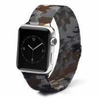 Ремешок Apple Watch 38/40/42/44mm with Milanese Loop (magnetic) Military