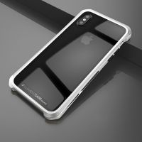 Чехол Element Case Template Glass  For iPhone X/10 Silver