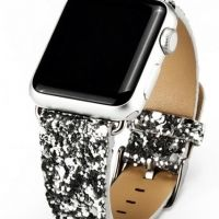 Ремешок crystal texture Silver for Apple Watch 38/40/42/44mm