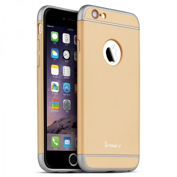 Чехол iPaky Gold Full Cover For iPhone 6.6S - Фото 1
