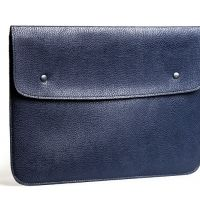 Чехол felt & leather от Gmakin для MacBook Air 13.3 Pro 13 Blue