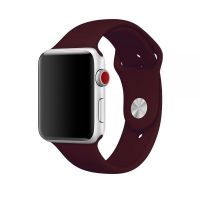 Ремешок Silicone Band for Apple Watch 38/40/42/44mm Dull Red