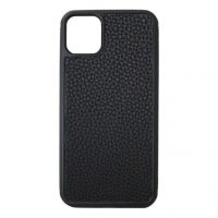 Чехол Leather для iPhone 11 Black, Цена: 603 грн, Фото