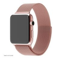 Ремешок Apple Watch 38/40/42/44mm with Milanese Loop (magnetic) Rose Gold