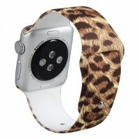 Ремешок Silicone Leopard Band for Apple Watch 38/40/42/44mm
