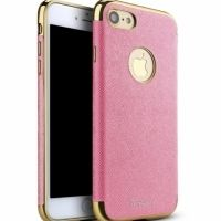 Чехол матовый iPaky Pink Full Cover For iPhone 7.7 plus / 8.8 plus